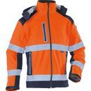 Warnschutz Softshelljacke 1 orange/marine XL