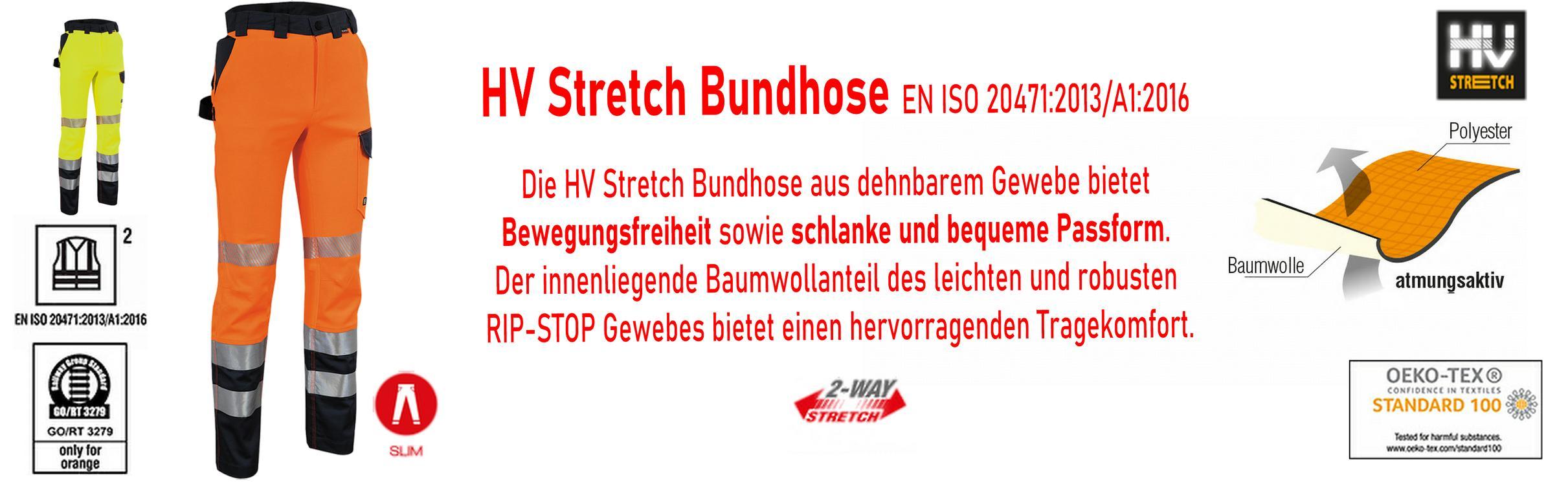 HIGH VISIBILITY STRETCH Hose   nur  € 39,99