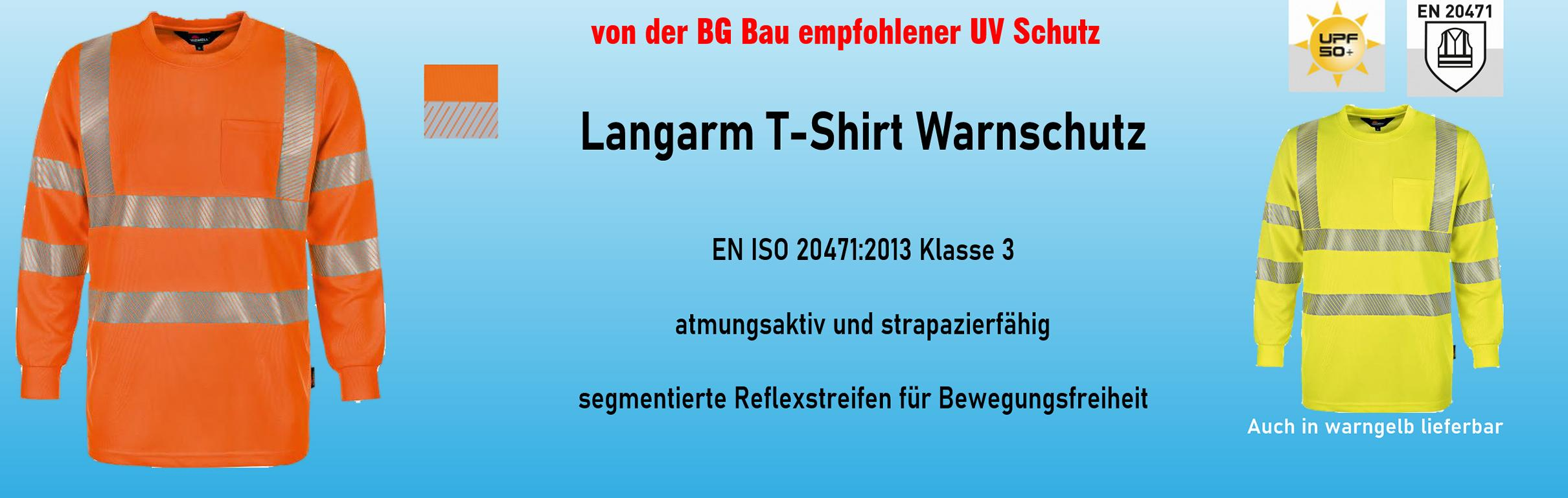 Warnschutz Langarm Shirt ab € 19,95